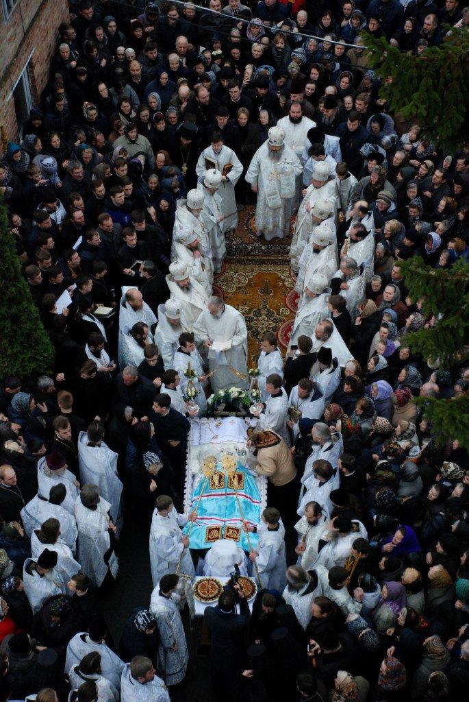 Чин похорону митрополита Ніфонта