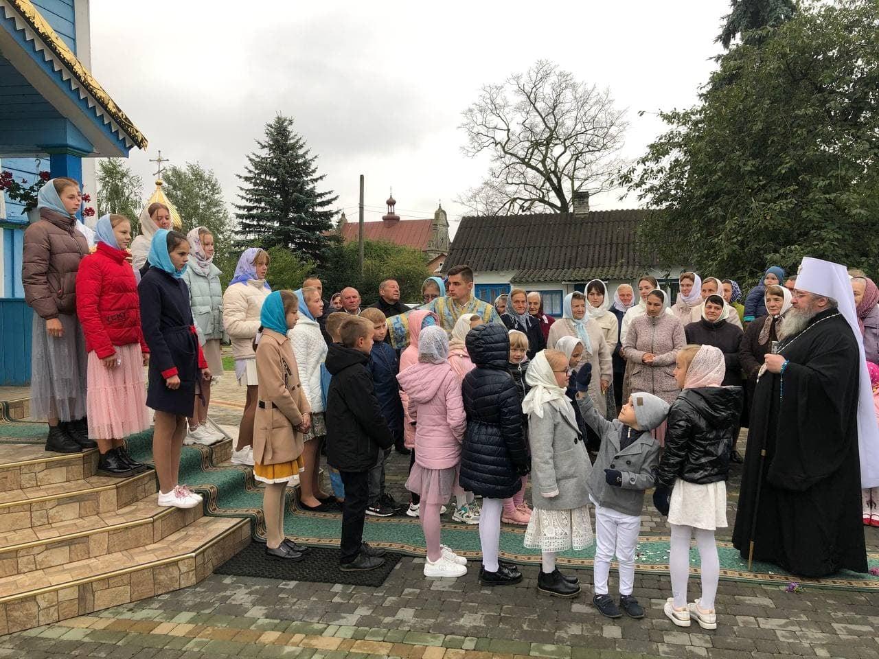 Престольне свято відзначили у Любомльському храмі на честь Різдва Пресвятої Бого