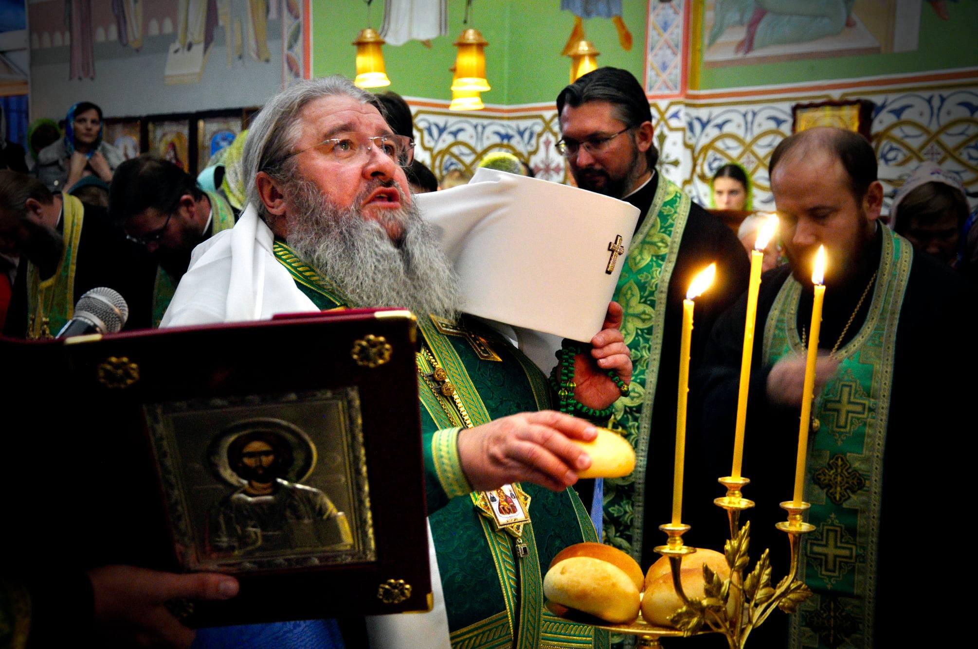 Престольне свято храму преп.Сергія очолив митрополит Володимир