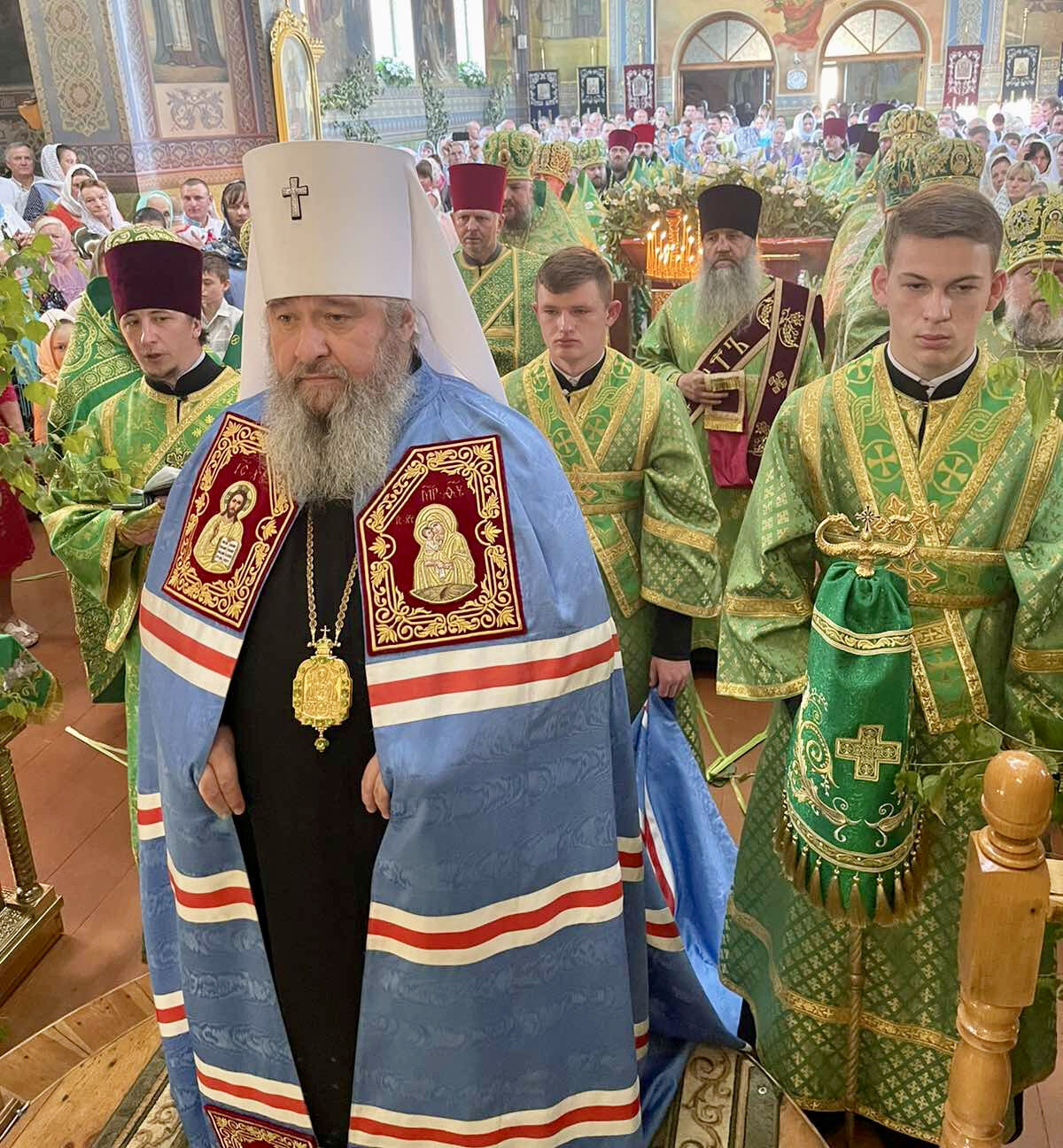Престольне свято у Свято-Троїцькому кафедральному соборі