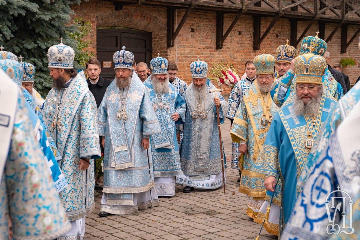 Митрополит Володимир взяв участь в ювілеї Зимненської обителі